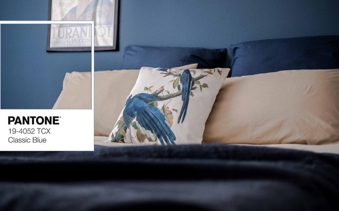 Pantone 2020: tutti i segreti per abbinare il Classic Blue in casa